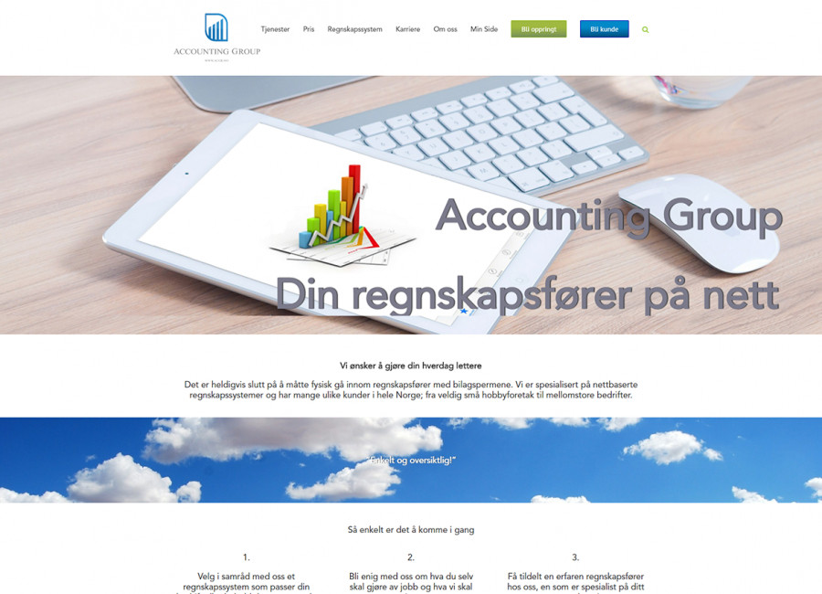Accounting Group Website
